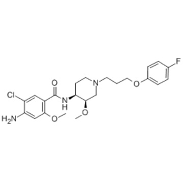 Benzamide,4-amino-5-chloro-N-[1-[(3R,4S)-3-(4-fluorophenoxy)propyl]-3-methoxy-4-piperidinyl]-2-methoxy-,rel-  CAS 81098-60-4