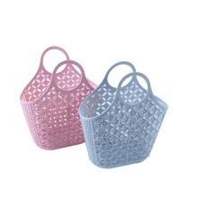 Soft plastic hand basket, Bath Basket, storage baskets, shopping basket