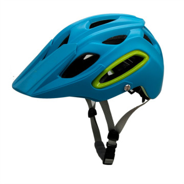 CE CPSC Approved Mtb Mens Helmets Blue
