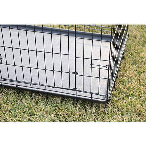 Wire Welded Black Folding Pet Dog Cage