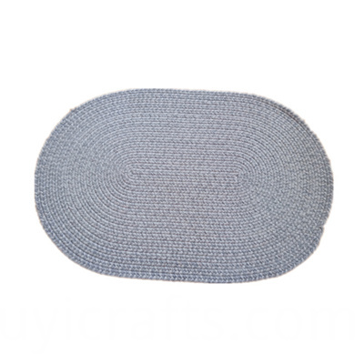 round cotton placemats
