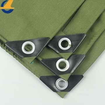 organic silicon coated  canvas tarpaulin