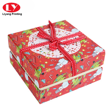 Popular gift cookie box packaging