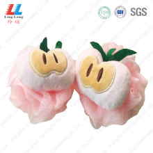 Enchanting apple lovely mesh bath ball