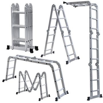 Max loading 150 kgs aluminum multipurpose ladder