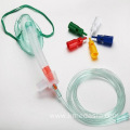PVC Adjustable Venturi Oxygen Mask with Tube