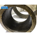 Inner Surface Hardfacing Overlay Pipe Segment