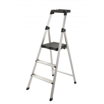Tool tray step sturdy ladders
