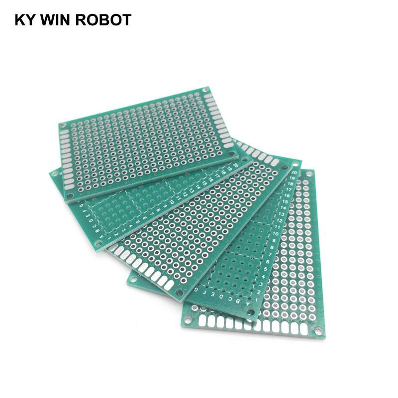 5pcs 4x6cm 40x60 mm Single Side Prototype PCB Universal Printed Circuit Board Protoboard For Arduino