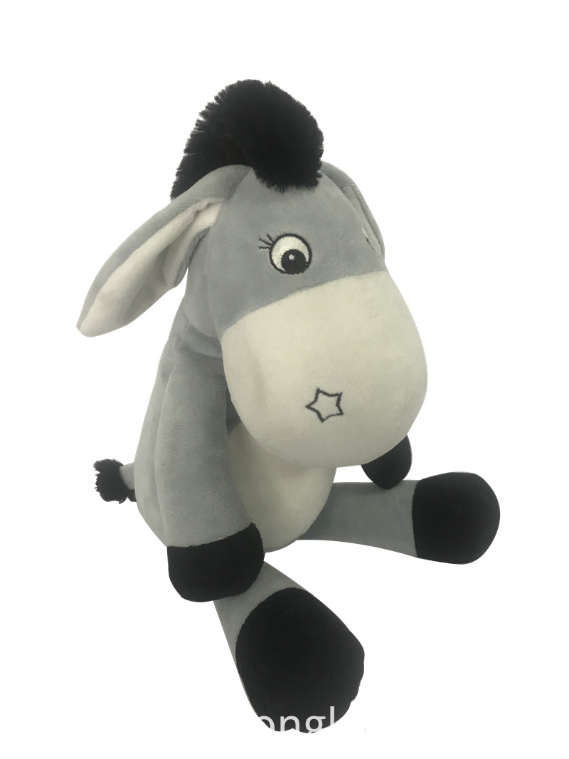 Soft Plush Donkey Toy