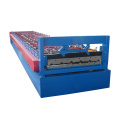 Customized length roof building template board forming machine