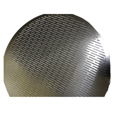 Stainless steel laboratory perforated metals test sieve
