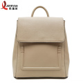 Special design hardshell PU leather backpack