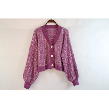 Simple Style Cardigan Knitting