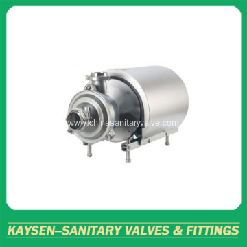 Sanitary stainless steel self-priming pumps