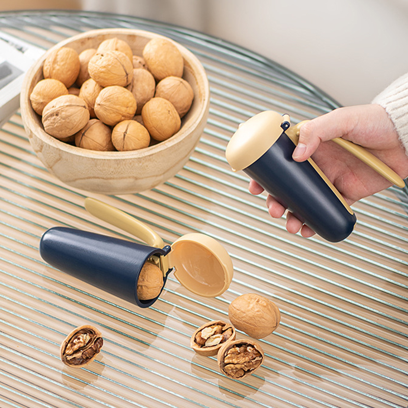 ABS Stainless Steel Nut Crackers Walnut Shelling Tool Household Gadgets Kitchen Accessories For Macadamia Hazelnut Pecan