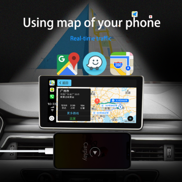 وصلة ذكية لاسلكية carplay android auto usb مرآة شاشة apple car play