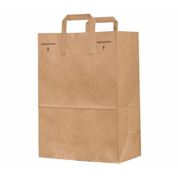 Hot Selling Luxury Recycled Brown Kraft Paper Bag