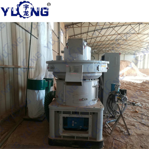 YULONG XGJ560 pellet machine 1 ton per hour