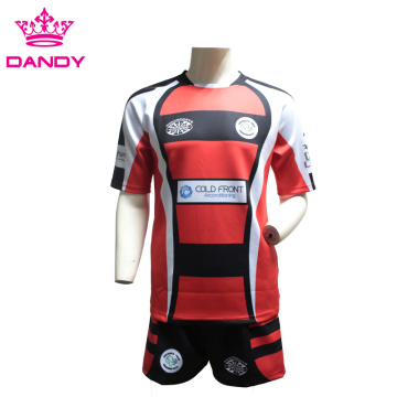 Custom Mens Training Rugby Shirt