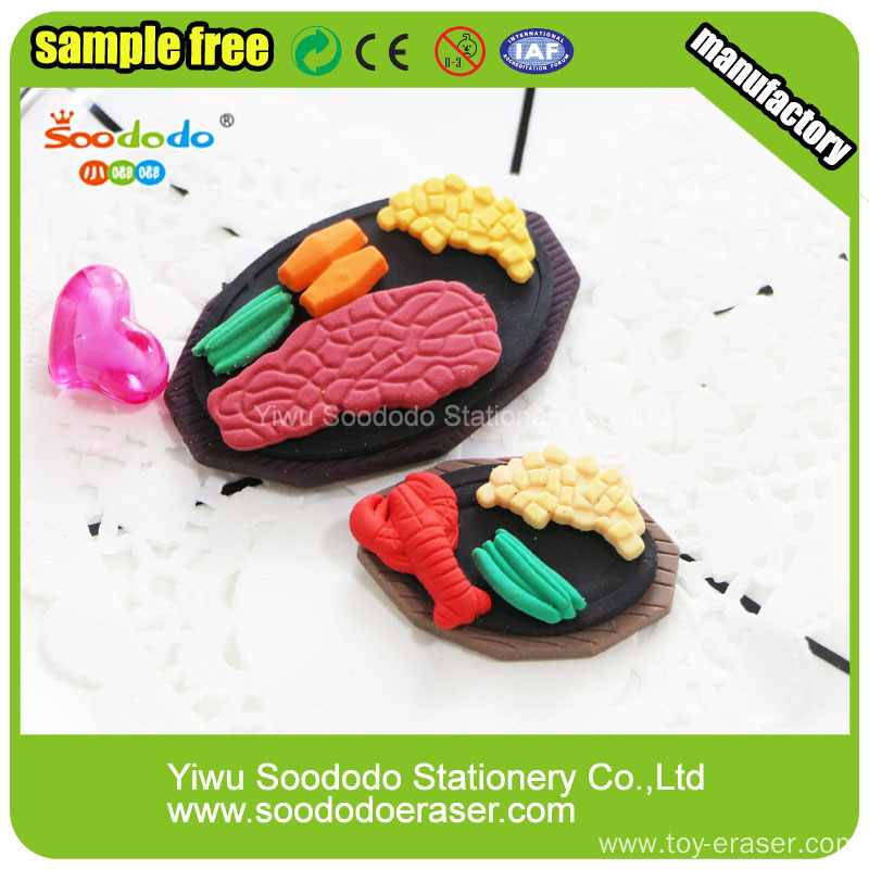 Chinese Manufacturer of SOODODO Blue Alien Shaped Eraser