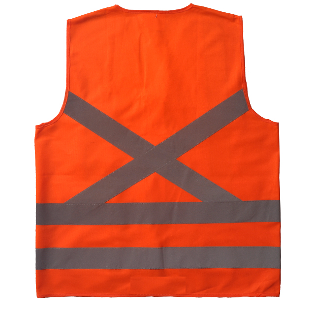 Safety Vest with Reflective X