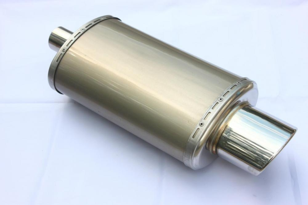 "8.5""x5"" Oval Exhaust Muffler"