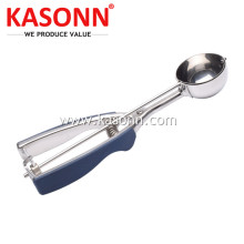 Stainless Steel Ice Cream Dessert Scoop with TPR