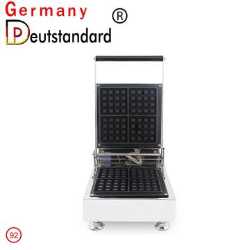 Four-piece mini square waffle machine stainless steel case