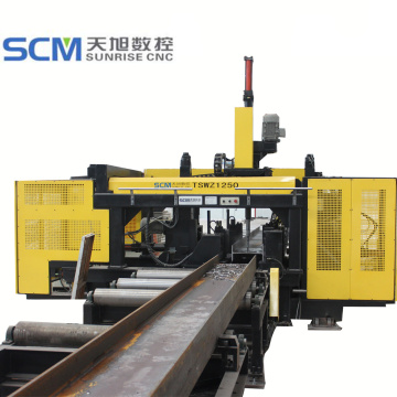 High Precision CNC H Beam Drilling Machine