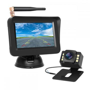 Wireless Parking System Reverse Camera with Monitor 4.3inch
