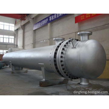 Industrial spiral plate heat exchanger
