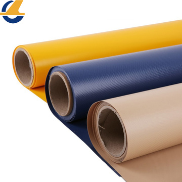 PVC vinyl coated tarpaulin fabrics for curtain