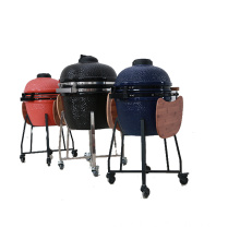 BBQYQL Offers 21'' Clay Burger Grill Oven