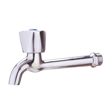 brass water tap, chrome coated bibcock, sanitary wares
