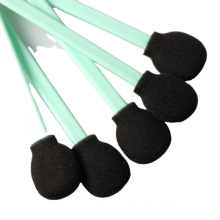 Direct Big Round Head Cleanroom Black Foam Swab