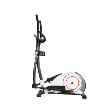 Indoor magnetic resistance elliptical cross trainer bike