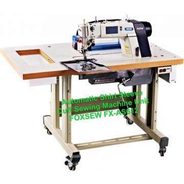 Automatic Shirts Sleeve Cuff Sewing Machine Unit