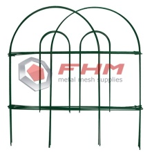 Decorative Garden Fence Rustproof Landscape Folding Fencing