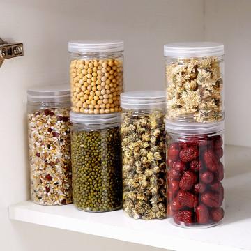 Plastic Sealing Food Storage Box Kitchen Storage Box Grain Sugar Nuts Plastic Fresh Pot Container H#1