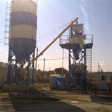 Small Size Mobile Concrete Plant