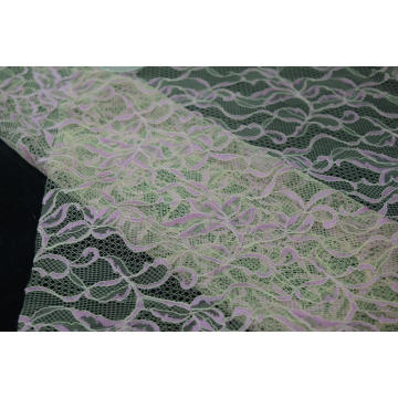 Nylon Polyester Cord Lace Fabric