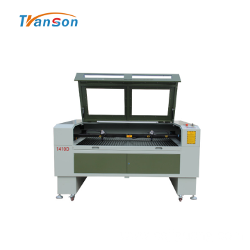 1410 Double Head CO2 Laser Machine For Leather