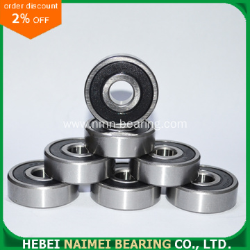 6002-2RS 6002-ZZ Radial Deep Groove Ball Bearing