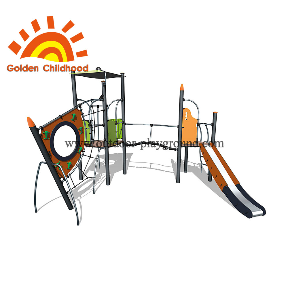 Cliff climb and slide playset lifetime