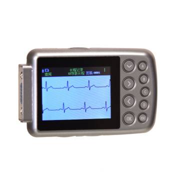 12 leads holter ecg machine