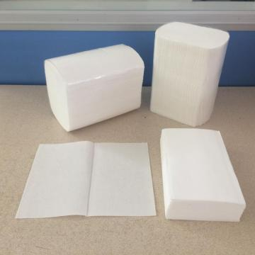 Laminated single fold paper towels