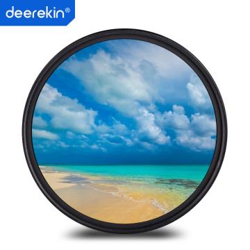 Deerekin 49mm Multi-Coated MC UV Filter for Canon 15-45mm Lens EOS M50 M10 M5 M6 M6II M3 M100 M200 & 50mm f1.8 STM