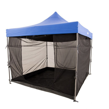 3x3 folding gazebo trade show tent with sidewalls