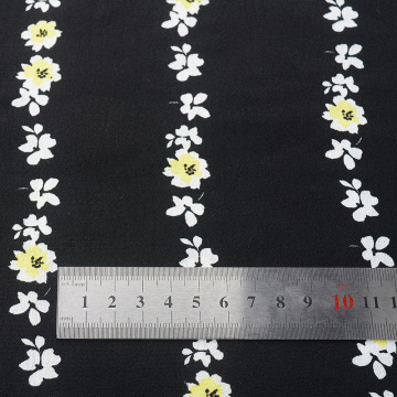 Wholesale reactive dyes printed rayon viscose crepe fabric